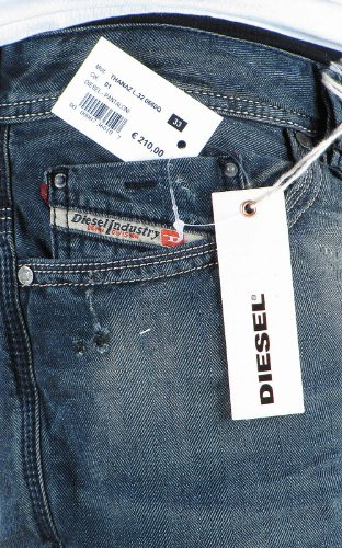 Diesel Thanaz 660Q jeans 0660Q Homme Blu