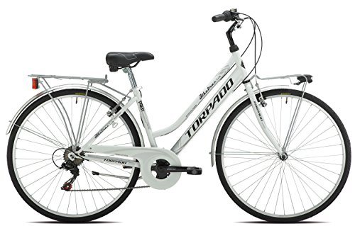 TORPADO BICICLETA CITY ALBATROS LADY 28 6 V TALLA 52 BLANCO (CITY)/BICYCLE CITY ALBATROS LADY 28 6S SIZE 52 WHITE (CITY)