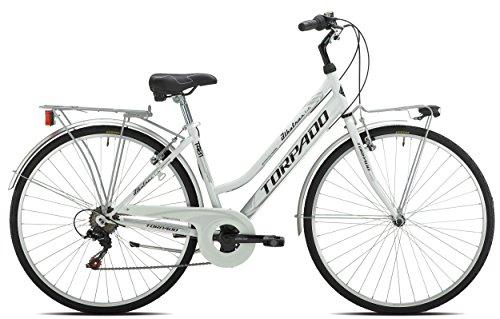 TORPADO BICICLETA CITY ALBATROS LADY 286V TALLA 52BLANCO (CITY)/BICYCLE CITY ALBATROS LADY 286S SIZE 52WHITE (CITY)