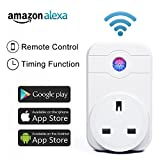 Wi-Fi Smart UK Plug Wireless – Horsky Remote Control Switch Socket Controlling Lights