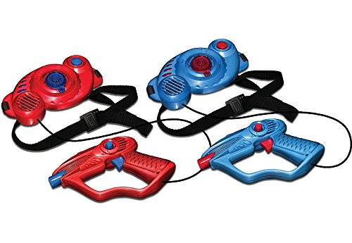 Laser Games For Kids, Laser Tag Set For kids Multiplayer Pack. The Laser Quest Tag Set Comes With Two Laser Tag Blasters And The Targets.
