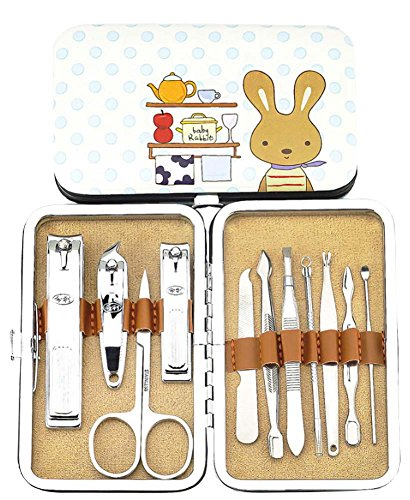 Mignon, lapin, ongles, clipper, manucure, ensemble, clou, clipper, ensemble, 10, 1