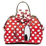 Irregular Choice Womens I Heart Minnie Bag Top-Handle Bag Red (Red/White)