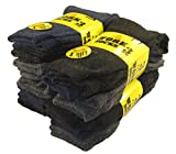 Best Work Boot Socks - 12 Pairs Of Men's Extreme Work Socks, Safety Review