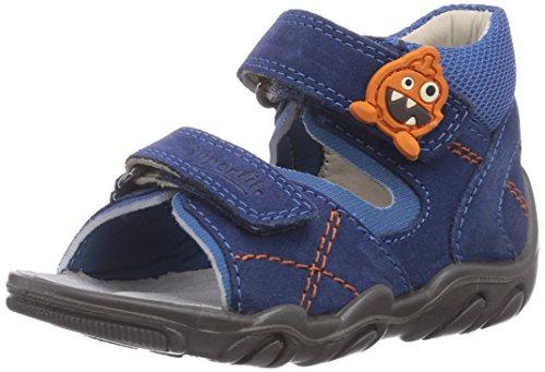 Superfit ROCKY, Scarpe primi passi bambini Blu (Blu (WATER KOMBI 88))
