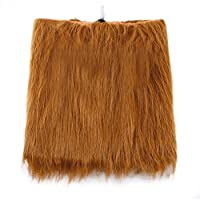 GKKCOO Large Pet Costume Dog Lion Wigs Mane Hair Scarf Party Fancy Dress Clothes Dog Costume Festival Party Fancy Dress Halloween