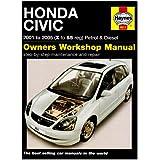 Honda Civic Petrol Diesel 01 05 Haynes Repair Manual Amazon Co Uk Anon 0699414004973 Books