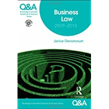 Q&A Business Law 2009-2010 (Questions and Answers)