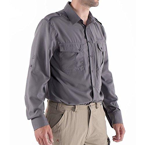 Cimalp chemise look baroudeur pour la rando et les voyages homme ACAPULCO