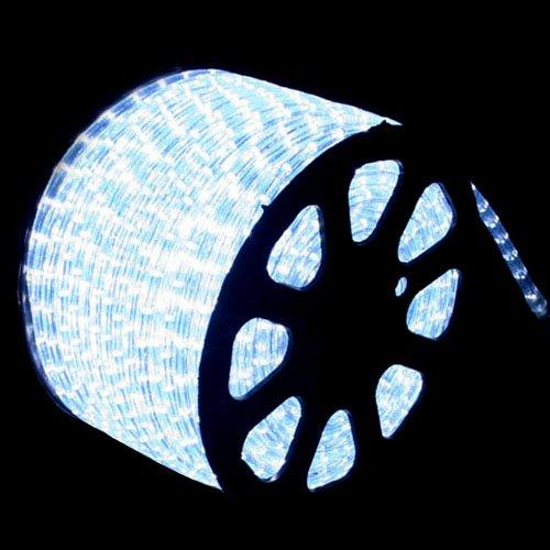 SPEED LED Lichterschlauch Lichtschlauch 12M Kaltweiß Beleuchtung Energiespar Weihnachten Lichterkette Außen/Innen