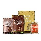 Cesta de Navidad para Veganos - Natural Athlete - Repostería Gourmet y Natural de nuestros productos; Orgánicos, sín azúcares añadidos, sin lactosa y aptos para veganos. (Repostería para Veganos)