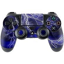 Elton PS4 Controller Designer 3M Skin For Sony PlayStation 4 , PS4 Slim , PS4 Pro DualShock Remote Wireless Controller (set Of Two Controllers Skin) - Light Thunder