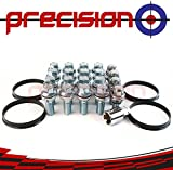 Picture Of 4-Wheel Conversion Kit with Locking Bolts for Fitting BMW Alloy Wheels to Ṿauxhall Vivaro Part No. 16WB3+B14V+Spigs122