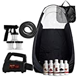 Maximist Lite Plus – Complete Tanning Kit (Includes Black Tent & Suntana Spray Tan Solutions)
