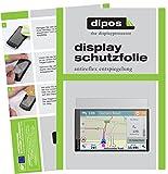 dipos I 3X Schutzfolie matt passend für Garmin DriveSmart 61 LMT-D Folie Displayschutzfolie