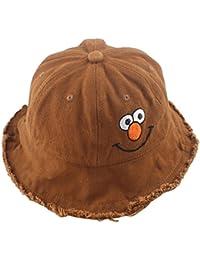 e9571b21b67 XueXian(TM) Boys Girls Funny Emoji Denim Bucket Fishing Hat Fit Outdoor  Dress