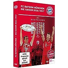 FC Bayern München DVD Saison 2016/17 + gratis Aufkleber München forever , Doppel Set - FCB