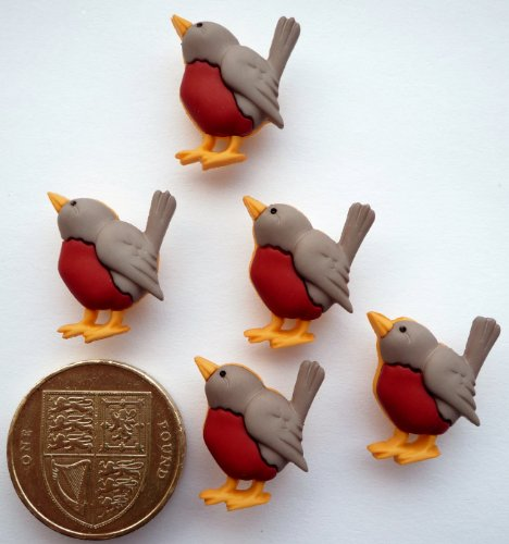 robin-redbreast-novelty-craft-buttons-embellishments-by-dress-it-up