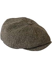 Peaky Blinders Anthracite tissu Style Tweed casquette d'été Par Gamble & Gunn