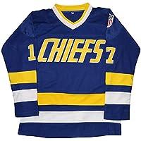 Camiseta Micjersey Hanson Brothers de Charlestown Chiefs 16,17,18 Slap Shot de la película de hockey sobre hielo