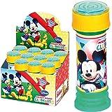 Disney: 6X Seifenblasen * Mickey Mouse * | Mitgebsel zum Kindergeburtstag, Sommerparty und Kinderparty ┃ Kinder lieben Diese Bubbles | Spiel & Spaß