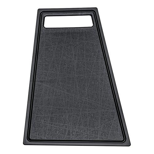 Koziol Planche à découper Kant Noire, Plastique, 40,2x25,4x1 cm