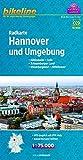 Radkarte Hannover und Umgebung (RK-NDS13) (Bikeline Radkarte)
