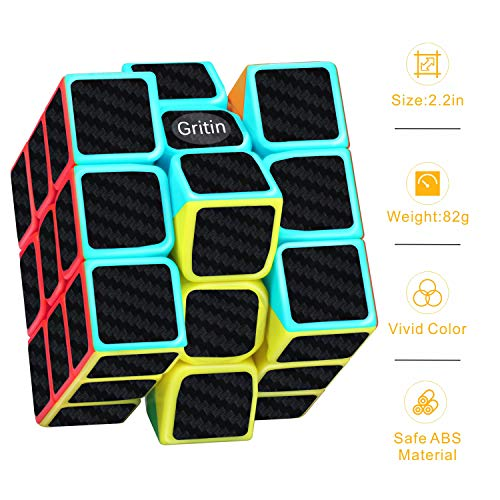 Zoom IMG-3 gritin cubo magico 3x3 smooth
