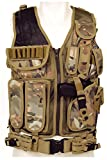 Tactical Weste Predator Einsatzweste Paintball Army Security Mission Vest Heavy (Black)
