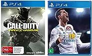 Call of Duty: Infinite Warfare (PS4) & EA Sports FIFA 18 (
