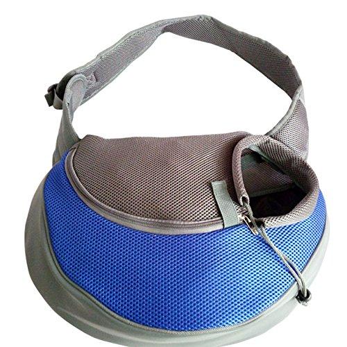 e Schulter Pet Head Out Tasche Hände frei Sling Tasche 45* 13* 25cm blau (Doc Mcstuffins-buch-tasche)