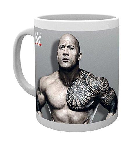 GB Eye Ltd, WWE, The Rock, Tazza