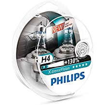 Philips 12342XVS2 X-treme Vision - Bombilla H4 para faros delanteros (2 unidades)