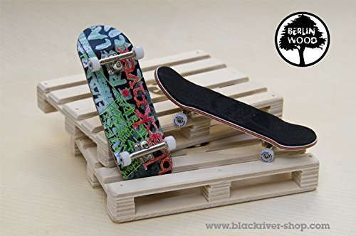 Professionelles Fingerboard Komplett Set Berlinwood