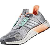 adidas Ultra Boost St W Clear Grey White Green 40.5