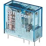 Finder serie 40 - Rele reticulado 5mm 1 conmutado 16a 24vdc sensible