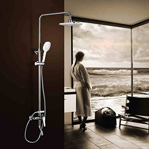 Suite Bad Regenduschen Top-Spray-Dusche Quadrat Dusche Hebe