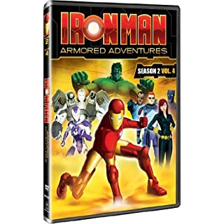 Iron Man: Armored Adventures - Season 2, Vol 4 by Adrian Petriw