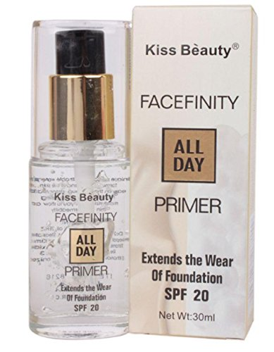 Kiss Beauty Facefinity All Day Primer and Foundation SPF 20 (58216)