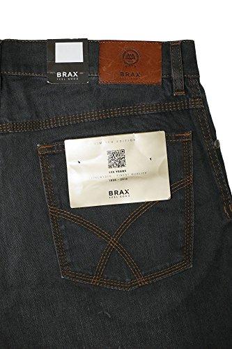 BRAX Jeans Cooper Herren Stretch Straight Fit Grau