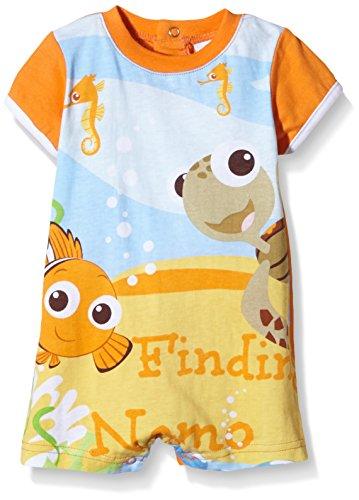Nemo Tshirt (Disney Baby Findet Nemo Jungen oder Mädchen Body Kurzarm (60cm (3 Monate) Orange))