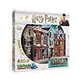 Wrebbit W3D-1010 - Puzzle 3D Diagon Alley, 450 Pezzi
