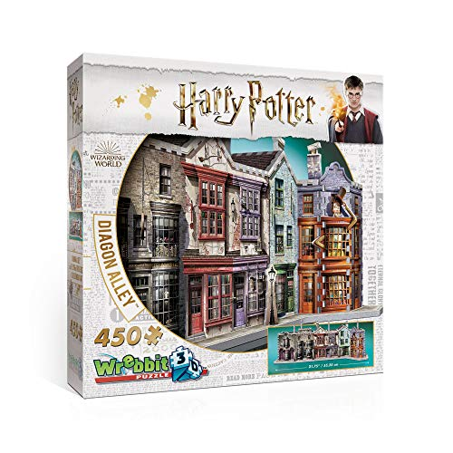 Wrebbit 3D 3D Puzzle Winkelgasse - Harry Potter Collection -