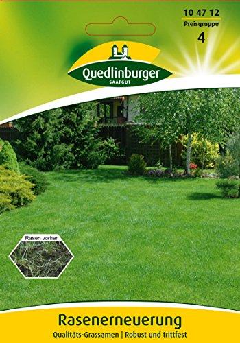Rasenerneuerung Qualitäts-Grassamen | Robust und trittfest - wöchentlichNicht für Futterzwecke bestimmt. Kleinpackung EG A