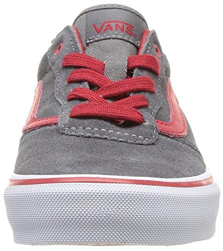 Vans - Y Milton (Suede), Sneakers infantile Grigio (Gris (Pewter/Chili Pepper))