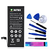 IBESTWIN Replacement Battery Model iP 6, 3.8V 1810mAh Battery with Removal Tool Set, Battery Adhesive Strip and Instruction, 1 Year Warranty(Not for 6S)