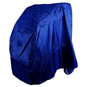 MPB® Rollator Abdeckung blau aus geschmeidigem Nylon
