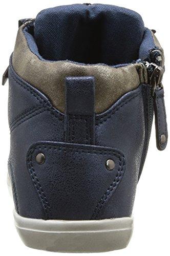 Kaporal - Scarpe a collo alto, Donna Blu  (Blue)