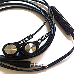 Philips SHE 2300 Headphone With Mic (Black)