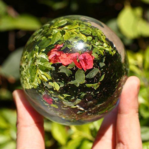 Glaskugel (Neewer® 60mm / 2.36Zoll Klar Crystal Ball Globe für Feng Shui / Divination oder Hochzeit / Hause / Office-Dekoration)